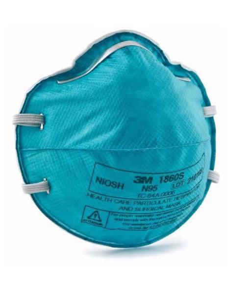 3M #1860 N95 Respirator