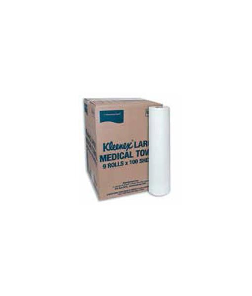 Kleenex Medical Rolled Towel Large (2 Ply)