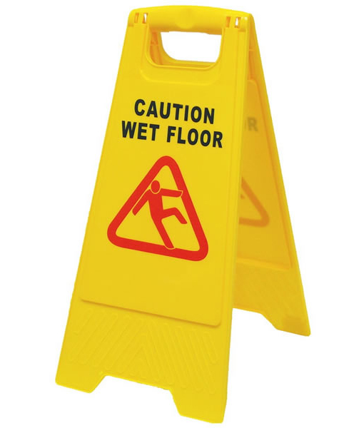 2 Part Wet Floor Signs