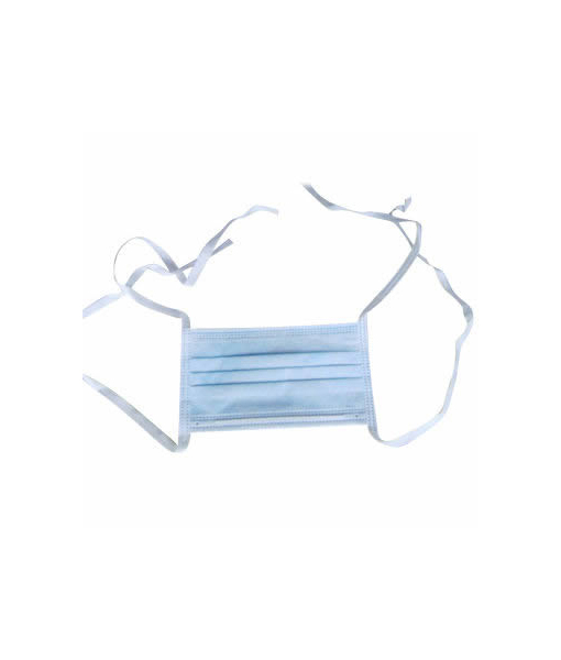 General Purpose Surgeon Face Masks 3 Ply with Loop/Tie