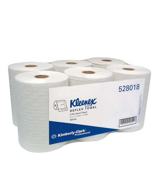 Kleenex Reflex* Rolled Hand Towels (2 Ply)