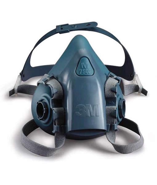3M #7502 Half Mask Silicone (Medium)