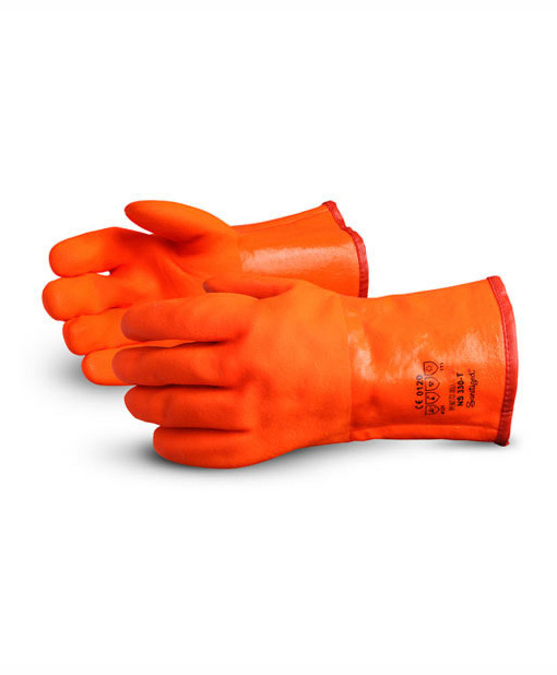 Orange-Freezer-Gloves