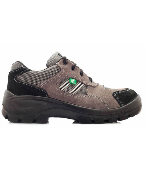 #90008 Hamburg Takkie Black (Steel Toe Cap)