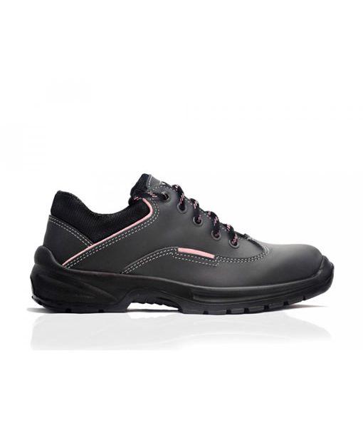 #55005 JenniferLadies Shoe Black (Steel Toe Cap) 1