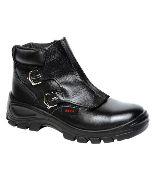 #42004 Welders Boot Black (Steel Toe Cap)