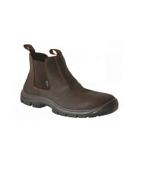 Brown Chelsea Boot (Steel Toe Cap) 1