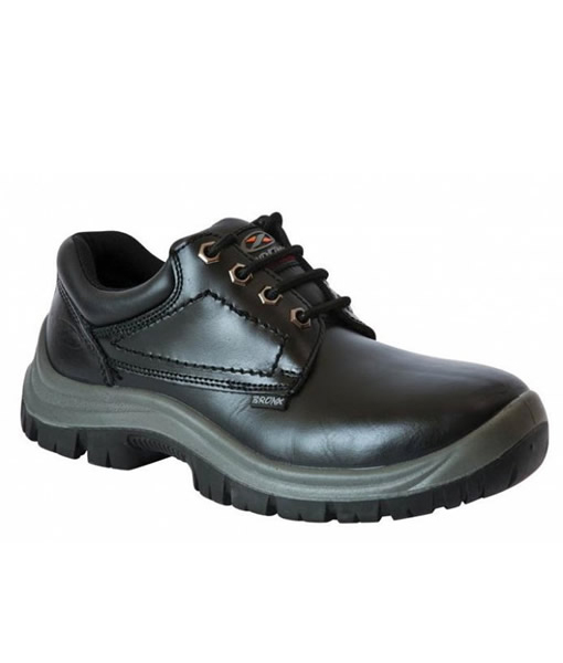 Black Excel Shoe (Steel Toe Cap)