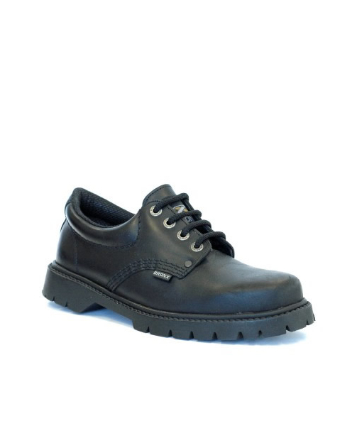 Black Ink Laceup Shoe