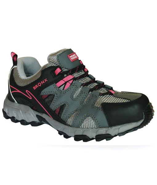 Grey/Black/PinkLadies Sprinter (Steel Toe Cap)