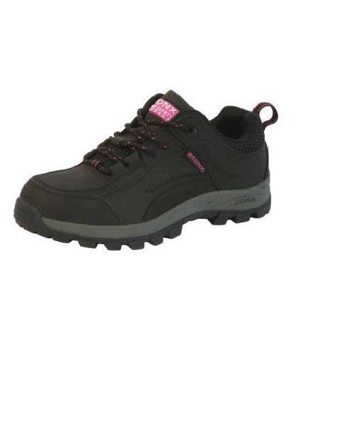 Black/Pink Tova Ladies (Steel Toe Cap) 1