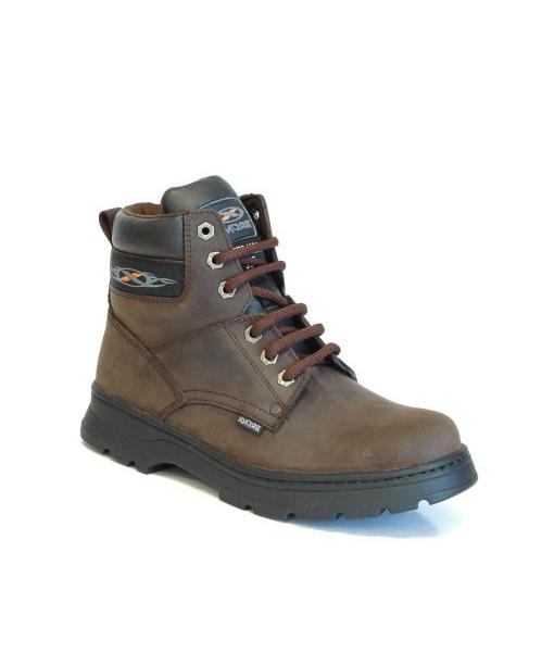 Brown Tat2 Laceup Boot