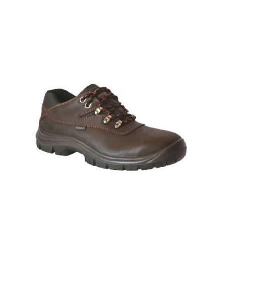 Brown Volcano Low Shoe (Steel Toe Cap)