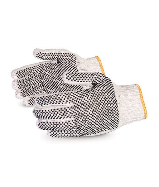 Double Dotted Cotton Gloves 1