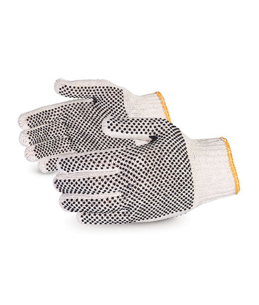 Double Dotted Cotton Gloves