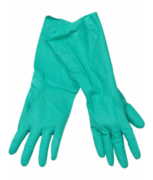 Green Nitrile Gloves