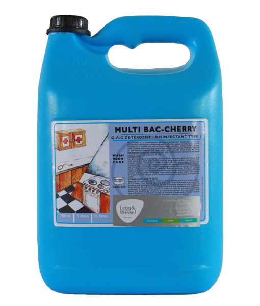 Multibac Disinfectant Cherry