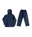 Navy Rubberised Rainsuit