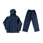 Navy Rubberised Rainsuit