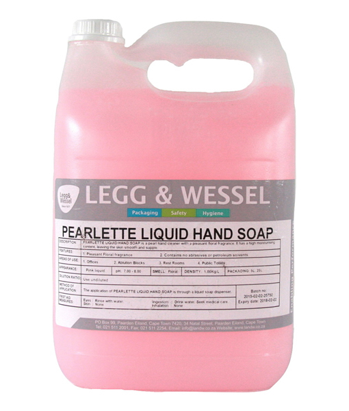 Pearlette Pink Hand Soap