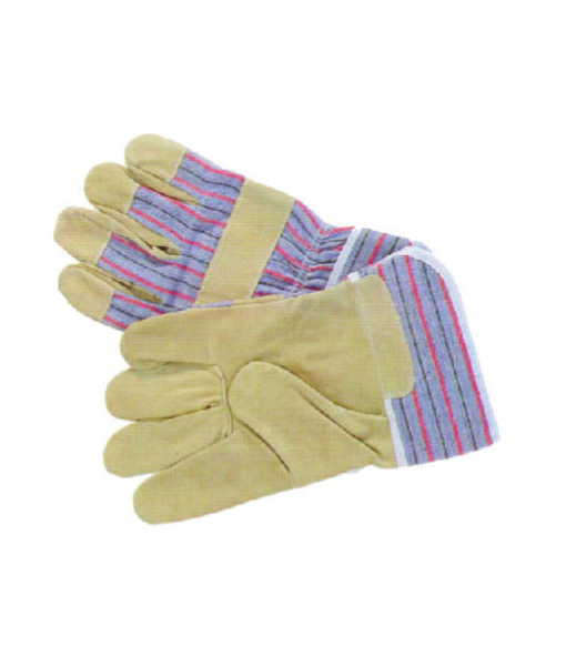 Pig Skin Candy Stripe Gloves
