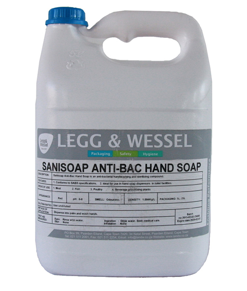 Sanisoap Antibac Hand Soap