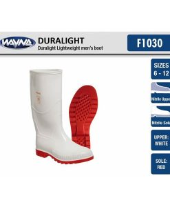 #1030 Mens Duralight White/Red or Black/White
